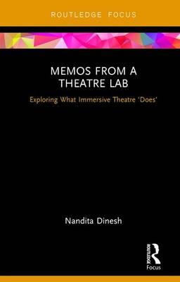 Memos from a Theatre Lab book