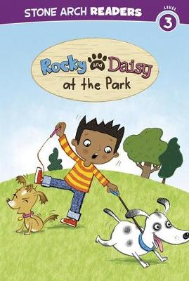 Rocky and Daisy at the Park by Mike Brownlow