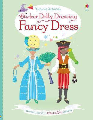 Sticker Dolly Dressing Fancy Dress by Emily Bone