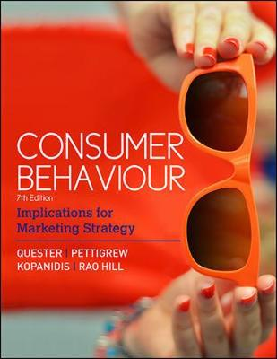 Consumer Behaviour by Pascale Quester