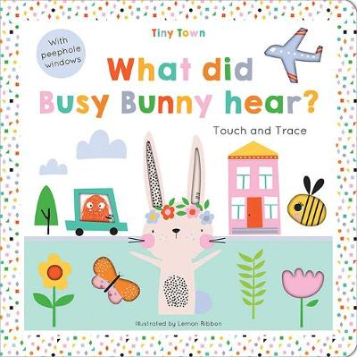 What did Busy Bunny hear? by Oakley Graham