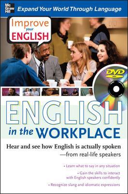 Improve Your English: English in the Workplace (DVD w/ Book) by Stephen E. Brown