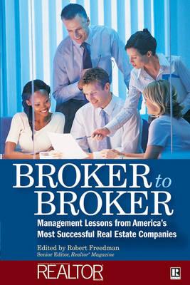 Broker to Broker book