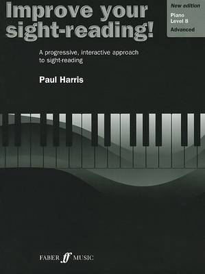 Improve Your Sight-Reading! Piano, Level 8 by Paul Harris