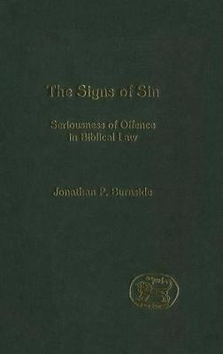 Signs of Sin by Jonathan Burnside