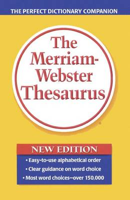 Merriam-Webster Thesaurus by Merriam-Webster