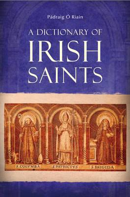 A Dictionary of Irish Saints by Padraig O'Riain