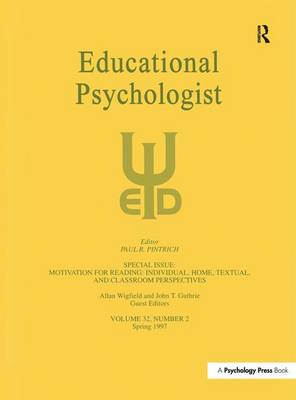 Motivation for Reading: Individual, Home, Textual, and Classroom Perspectives by Allan Wigfield