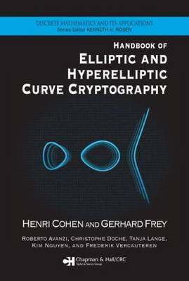 Handbook of Elliptic and Hyperelliptic Curve Cryptography by Henri Cohen