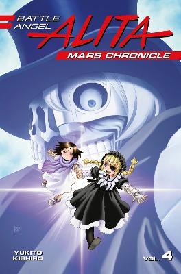 Battle Angel Alita Mars Chronicle 4 book