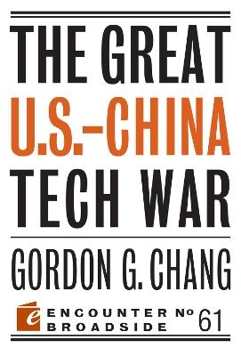 Great U.S.-China Tech War book