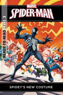 Marvel Ready-to-Read Level 3: Spidey's New Costume by Thomas Macri