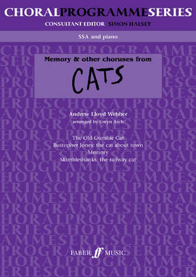 """""""Memory"""" and Other Choruses from Cats by Andrew Lloyd Webber"""