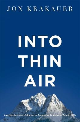 Into Thin Air book