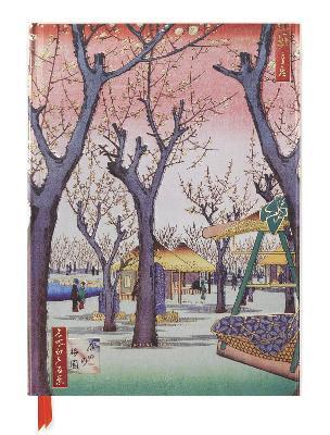 Hiroshige: Plum Garden (Blank Sketch Book) book