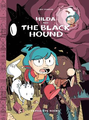 Hilda and the Black Hound Library Edition book