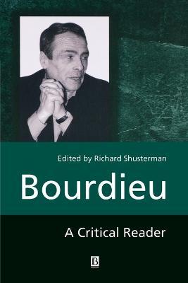 Bourdieu by Richard Shusterman
