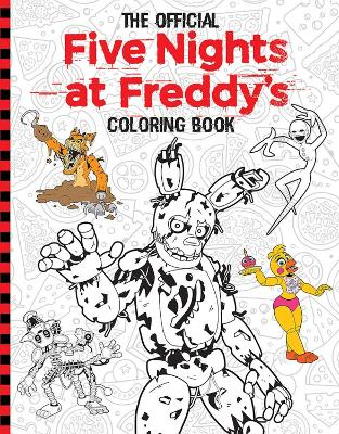 Official Five Nights at Freddy's Coloring Book book