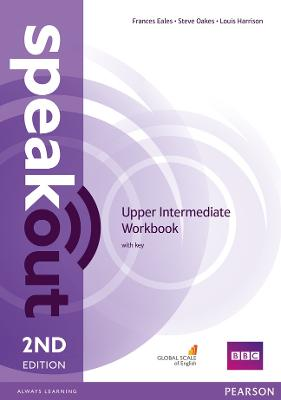 Speakout Upper Intermediate 2nd Edition Workbook with Key by Louis Harrison