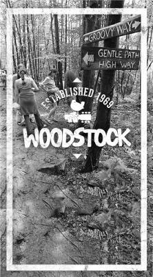Woodstock Lined Journal Groovy Way by Epic Records