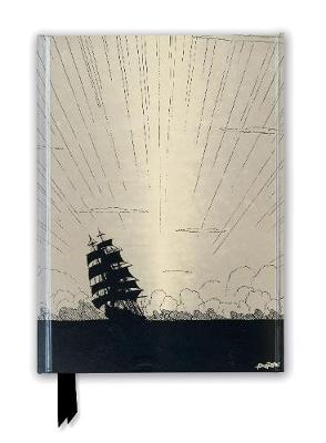 Harry Clarke: Sea Fever (Foiled Journal) book