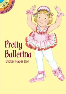 Pretty Ballerina Sticker Pap Doll by Cathy Beylon