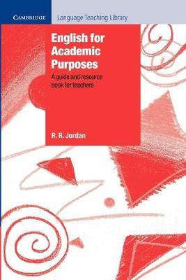 English for Academic Purposes by R. R. Jordan