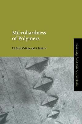 Microhardness of Polymers book
