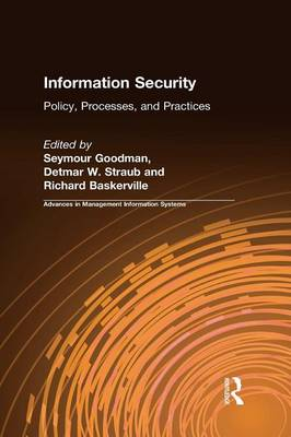 Information Security: Policy, Processes, and Practices book