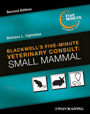 Blackwell's Five-Minute Veterinary Consult by Barbara L. Oglesbee