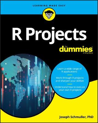 R Projects For Dummies by Joseph Schmuller
