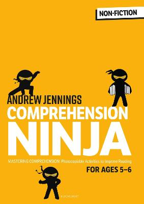 Comprehension Ninja for Ages 5-6: Non-Fiction: Comprehension worksheets for Year 1 book