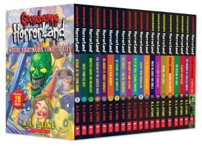 Goosebumps Horrorland 1-20 by R. L. Stine