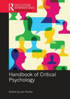 Handbook of Critical Psychology by Ian Parker