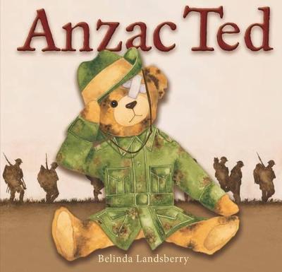 Anzac Ted by Belinda Landsberry