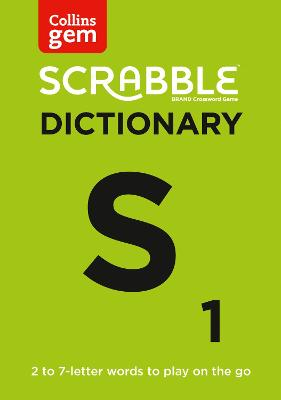 Collins Scrabble Dictionary Gem Edition: The words to play on the go by Collins Dictionaries