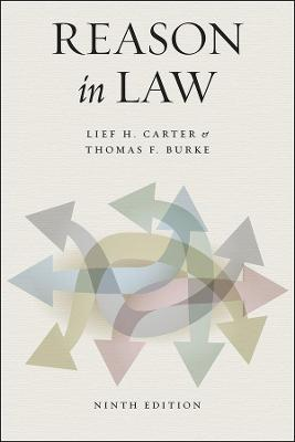 Reason in Law by Lief H Carter