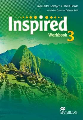 Inspired Level 3 Workbook by Judy Garton-Sprenger