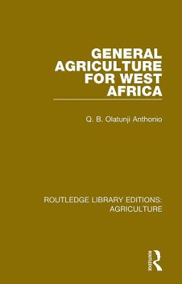 General Agriculture for West Africa book