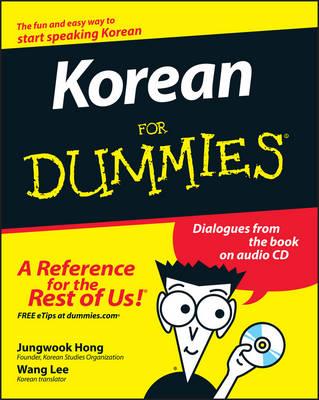 Korean for Dummies by Jungwook Hong
