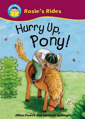 Hurry Up, Pony by Jillian Powell