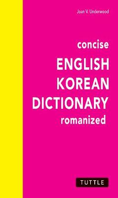 Concise English-Korean Dictionary book