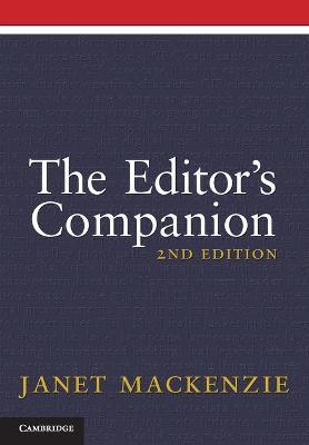 Editor's Companion by Janet MacKenzie