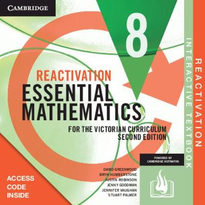 Essential Mathematics for the Victorian Curriculum Year 8 Reactivation Card by David Greenwood