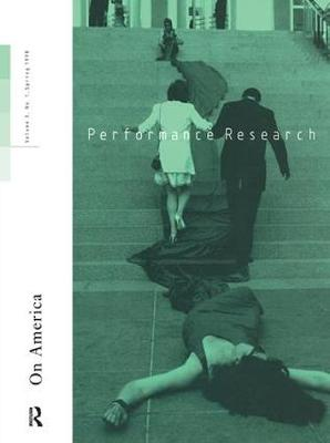 Performance Research: On America book