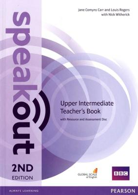 Speakout Upper Intermediate 2nd Edition Teacher's Guide with Resource & Assessment Disc Pack book