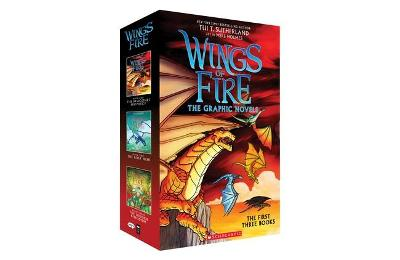 Wings of Fire Graphic Novels: the First Three Books by Tui,T Sutherland