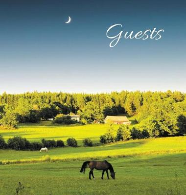 Guest Book for Guest House, Airbnb, Bed & Breakfast, Vacation Home, Retreat Centre: Hardcover Visitors Book, Guest Comments Book, Vacation Home Guest Book by Angelis Publications