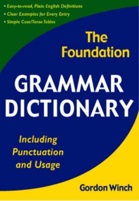 Foundation Grammar Dictionary book
