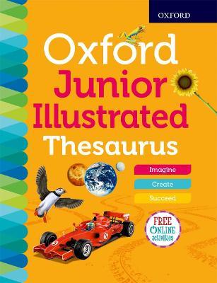 Oxford Junior Illustrated Thesaurus book